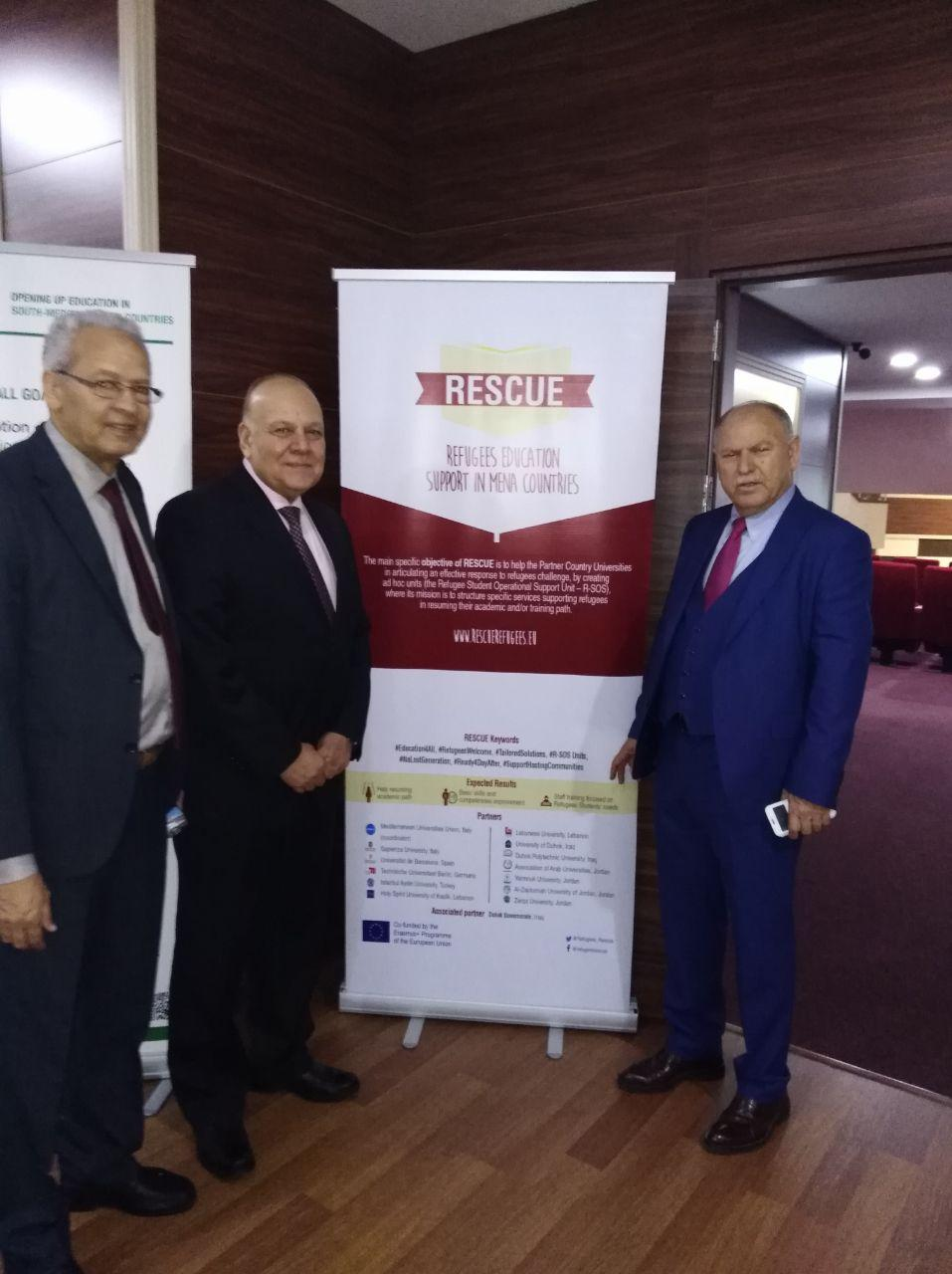 DISSEMINATING RESCUE AT THE FIRST FORUM OF THE FEDERATION OF RUSSIAN AND ARAB UNIVERSITY RECTORS