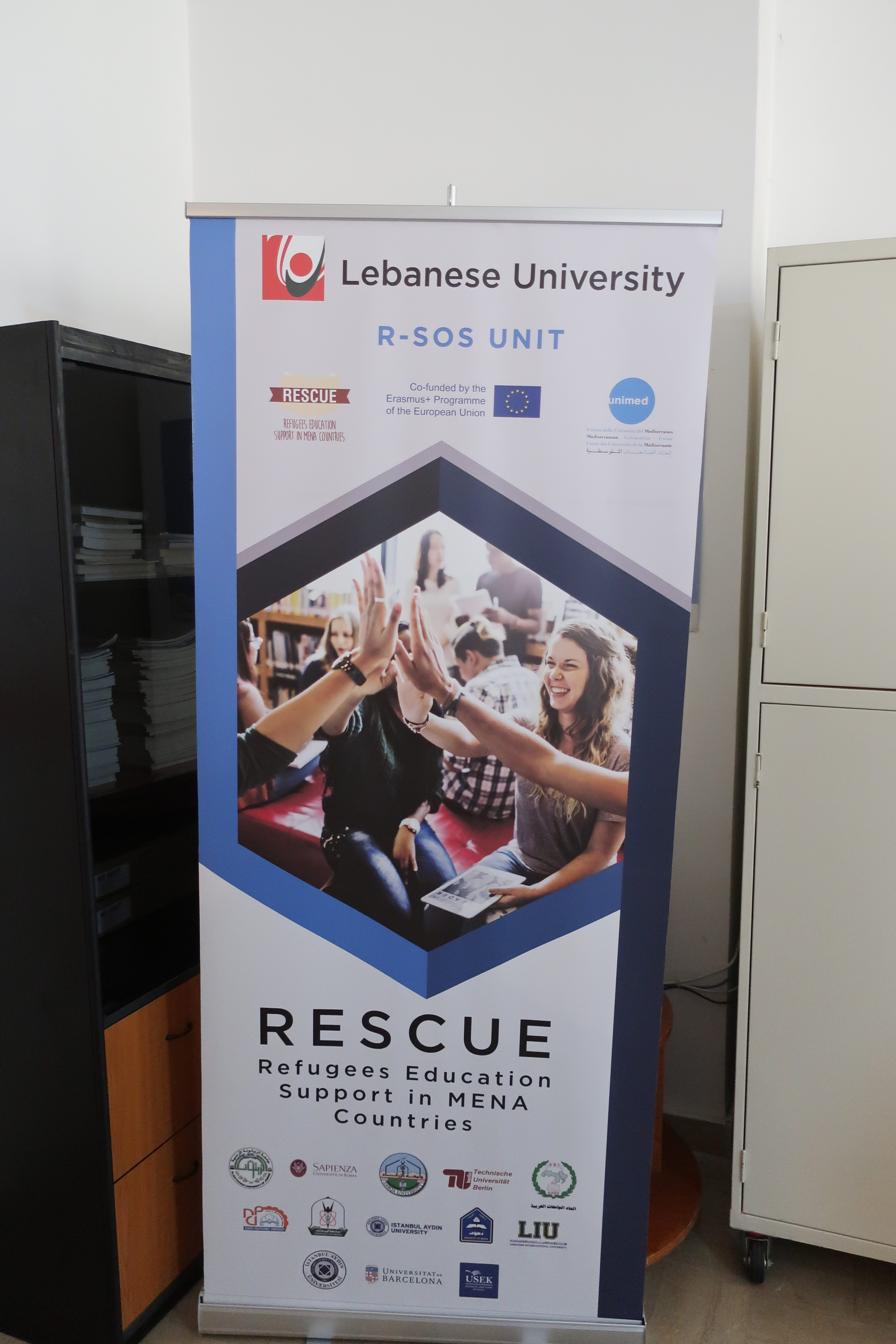 """Dissemination Conference in the Lebanese University on """"Refugees"""